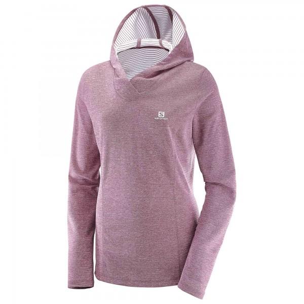 Salomon - Women's Elevate L/S Hoodie - Running shirt