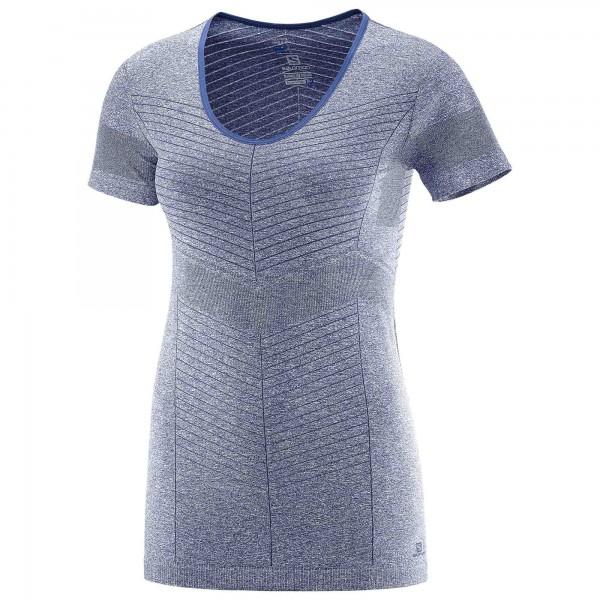 Salomon - Women's Elevate Seamless S/S Tee - Laufshirt
