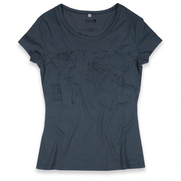 Degree - Women's World Mapper - T-shirt