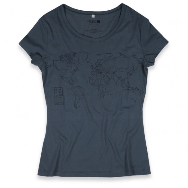 Degree - Women's World Mapper - T-Shirt