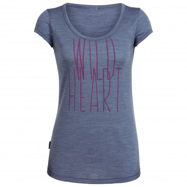 Icebreaker - Women's Spheria S/S Scoop Wild Heart - T-paidat