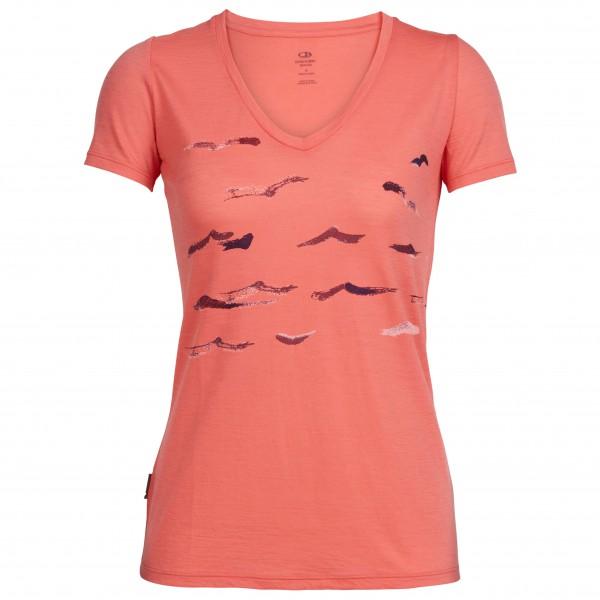 Icebreaker - Women's Tech Lite S/S V Shearwater - T-shirt