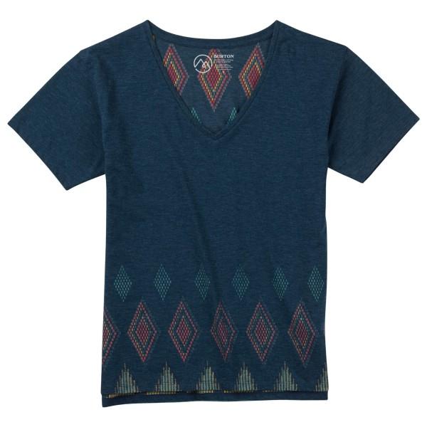 Burton - Women's Geo V-Neck S/S Tee - T-Shirt