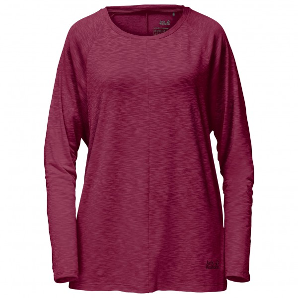 Jack Wolfskin - Travel Longsleeve T-Shirt Women - Camiseta de manga larga