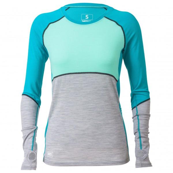 Mons Royale - Women's Bella Coola Tech L/S Geo - T-shirt de