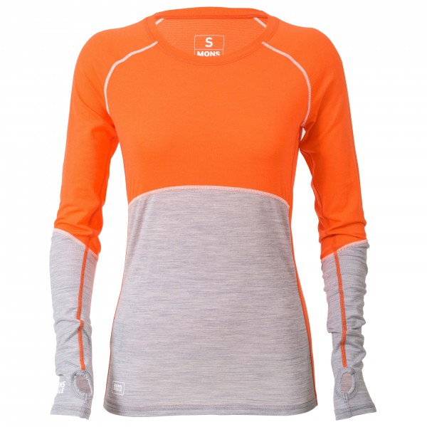 Mons Royale - Women's Bella Coola Tech L/S Geo - Laufshirt