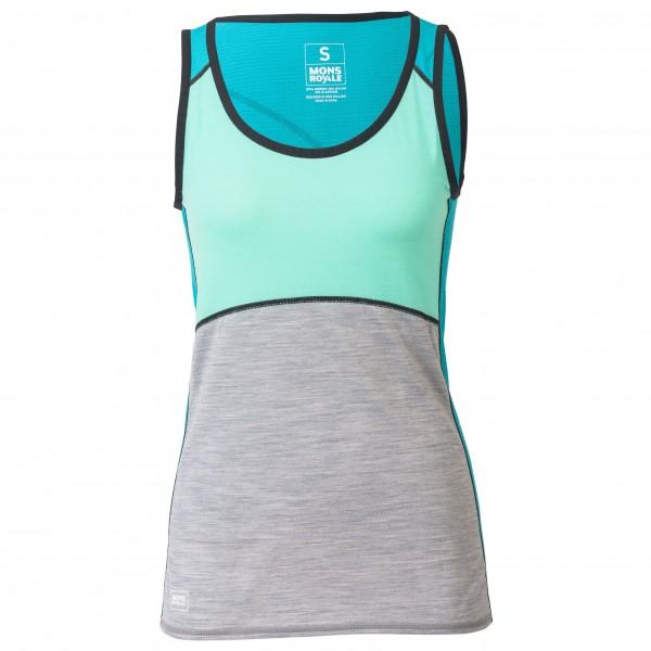 Mons Royale - Women's Bella Coola Tech Tank Geo - Running shirt