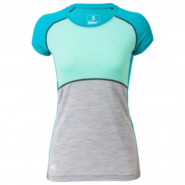 Mons Royale - Women's Bella Coola Tech Tee Geo - Laufshirt