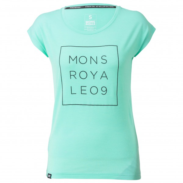 Mons Royale - Women's Cali Cap Tee Square - Functional shirt