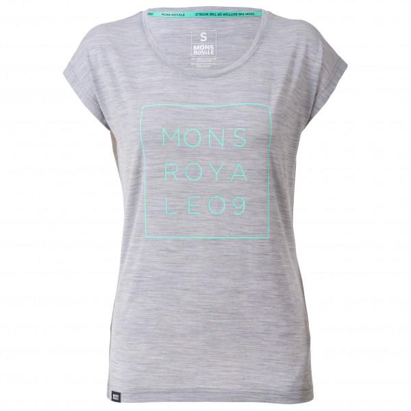 Mons Royale - Women's Cali Cap Tee Square - Sport shirt