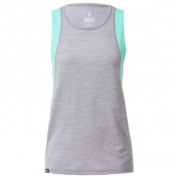 Mons Royale - Women's Kasey Relaxed Tank Mesh - Camiseta funcional