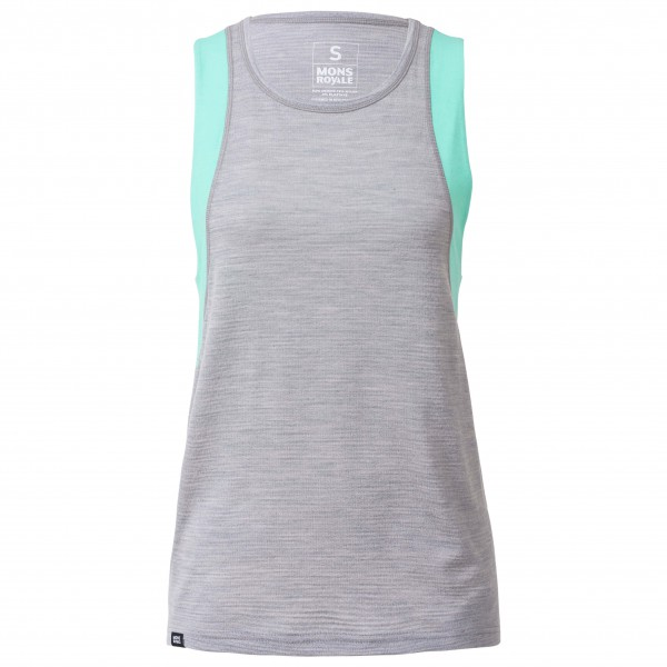 Mons Royale - Women's Kasey Relaxed Tank Mesh - Funktionströja