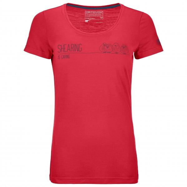 Ortovox - Women's 150 Cool Shearing T-Shirt - T-paidat