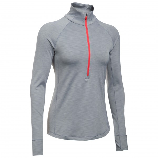 Under Armour - Women's UA Coldgear Armour 1/2 Zip - Camiseta de manga larga