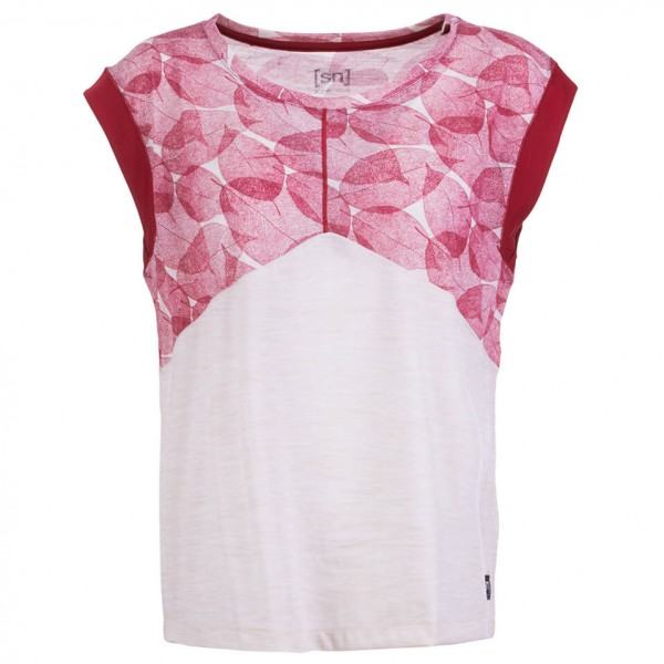 super.natural - Women's Active Tee Printed - Yoga-skjorte