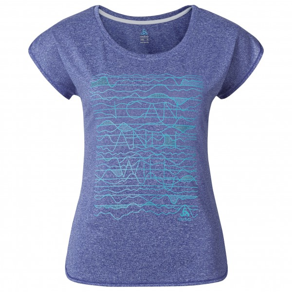 Odlo - Women's T-Shirt S/S Tebe - Juoksupaita