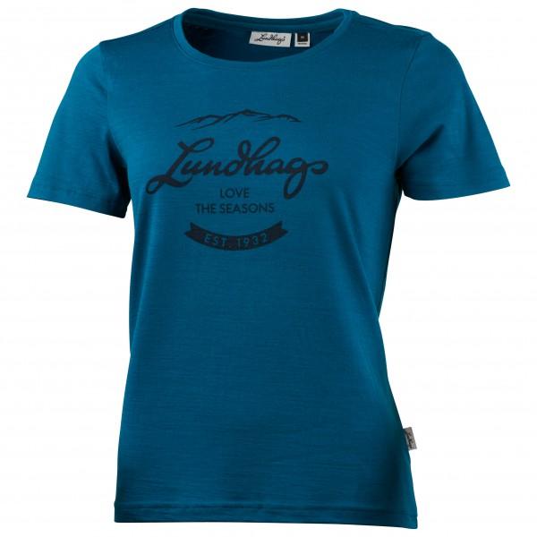 Lundhags - Women's Merino Light Established Tee - T-skjorte