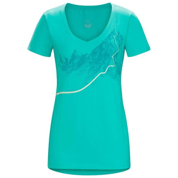 Arc'teryx - Afterglo S/S V-Neck Women's - T-Shirt