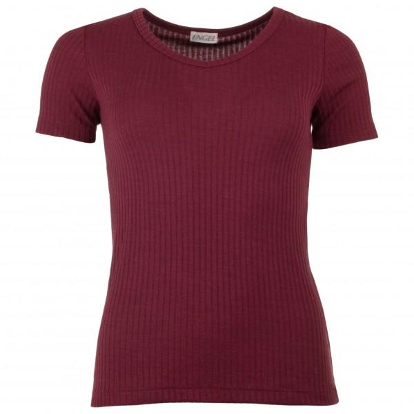 Engel - Women's Shirt S/S mit V-Ausschnitt - T-paidat