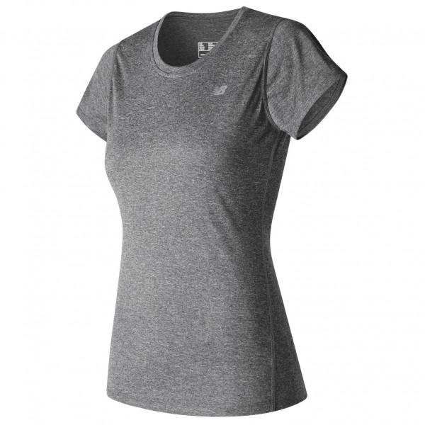 New Balance - Women's Heathered Short Sleeve Tee - Laufshirt