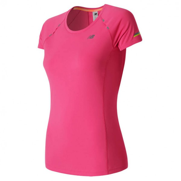 New Balance - Women's Ice Short Sleeve Tee - Camiseta de running