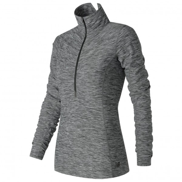 New Balance - Women's in Transit Half Zip - Løbeshirt