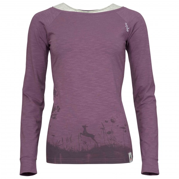 Chillaz - Women's L/S Serles Wood - Longsleeve