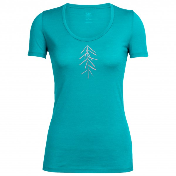 Icebreaker - Women's Tech Lite S/S Scoop Lancewood - T-skjorte