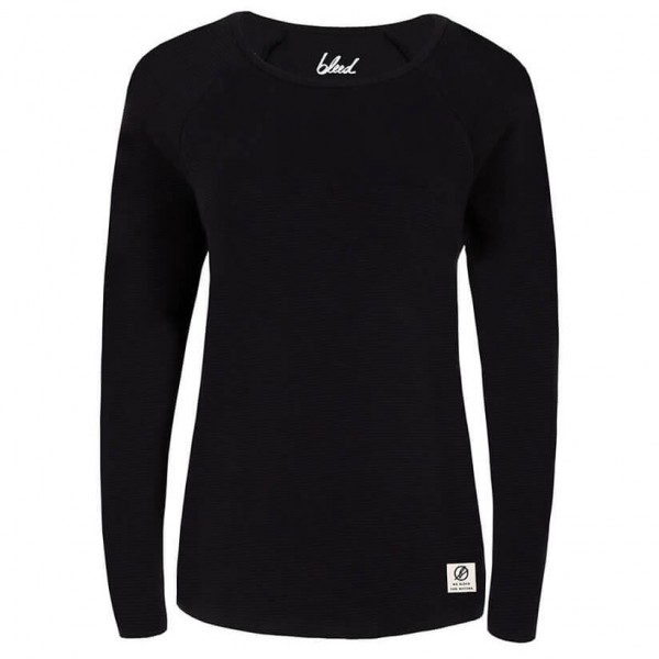 Bleed - Lines Longsleeve Damen - Manches longues