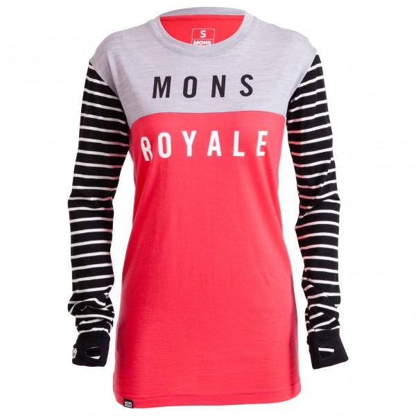 Mons Royale - Women's Boyfriend L/S - Longsleeve