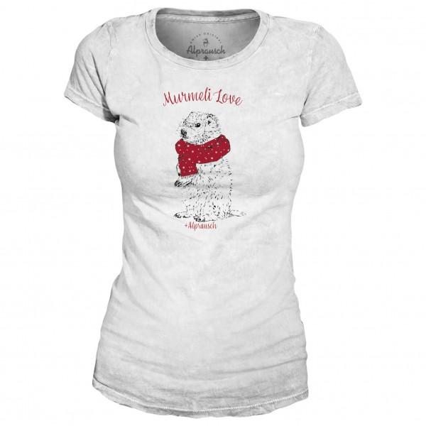 Alprausch - Women's Churzi Murmeli-Liebi T-Shirt - T-shirt