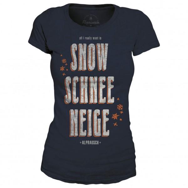 Alprausch - Women's Schnee Wotti T-Shirt - T-shirt