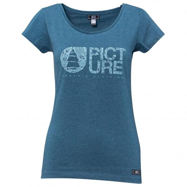 Picture - Women's Basement Cashmere T-Shirt - T-paidat
