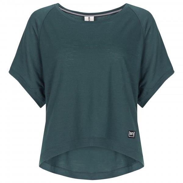 SuperNatural - Women's Womens Peyto Tee - Yogaskjorte