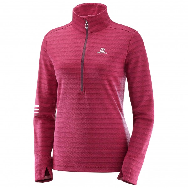 Salomon - Women's Lightning Halfzip Mid - Joggingshirt