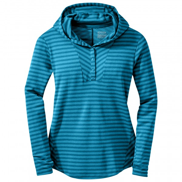 Outdoor Research - Women's Keara Hooded Henley - Tekninen paita