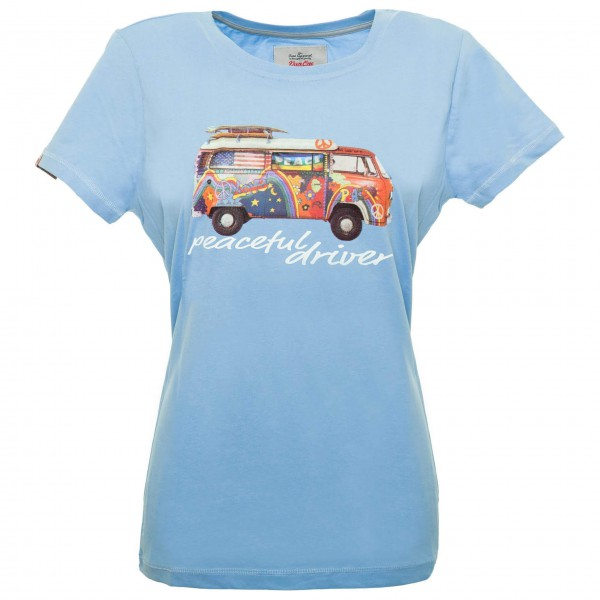 Van One - Women's Peaceful Driver VW Bulli - T-shirt