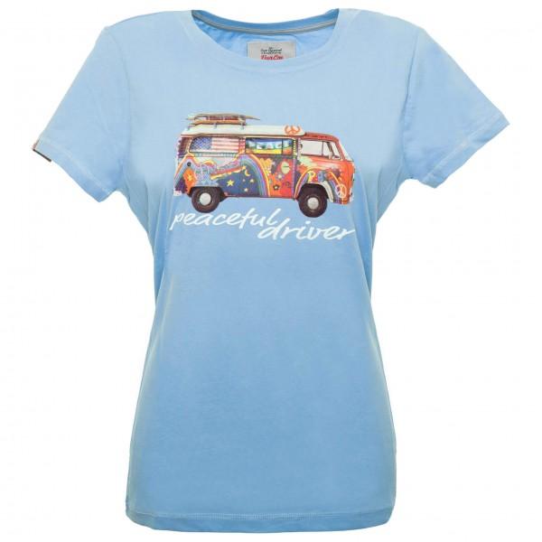 Van One - Women's Peaceful Driver VW Bulli - T-skjorte