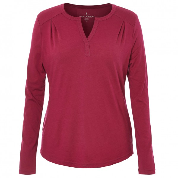 Royal Robbins - Women's Merinolux Henley - Long-sleeve