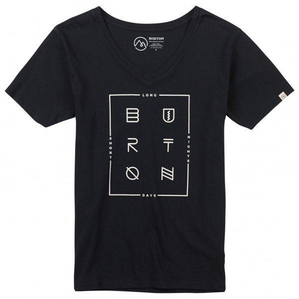 Burton - Women's Neversleep V-Neck S/S - T-Shirt