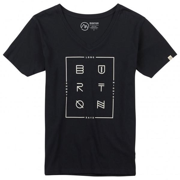 Burton - Women's Neversleep V-Neck S/S - T-shirt