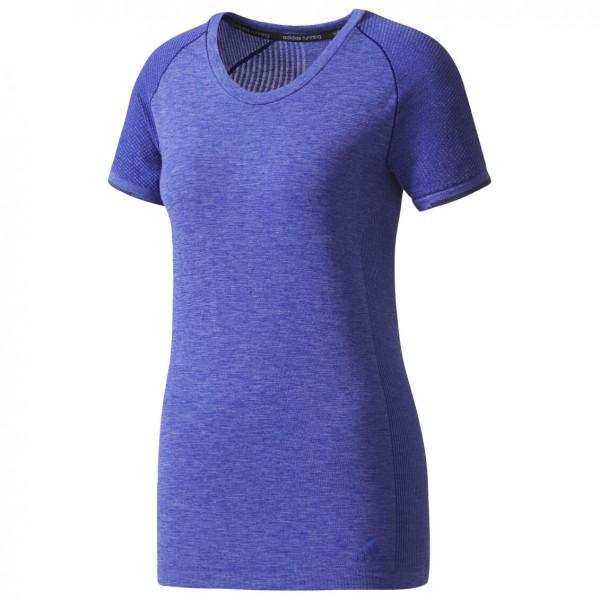 adidas - Primeknit Wool Short Sleeve Tee Women - Joggingshirt