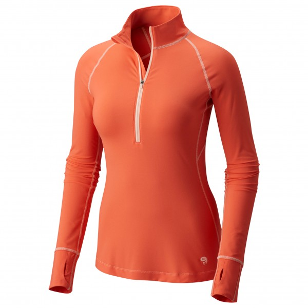 Mountain Hardwear - Women's Butterlicious Long Sleeve 1/2