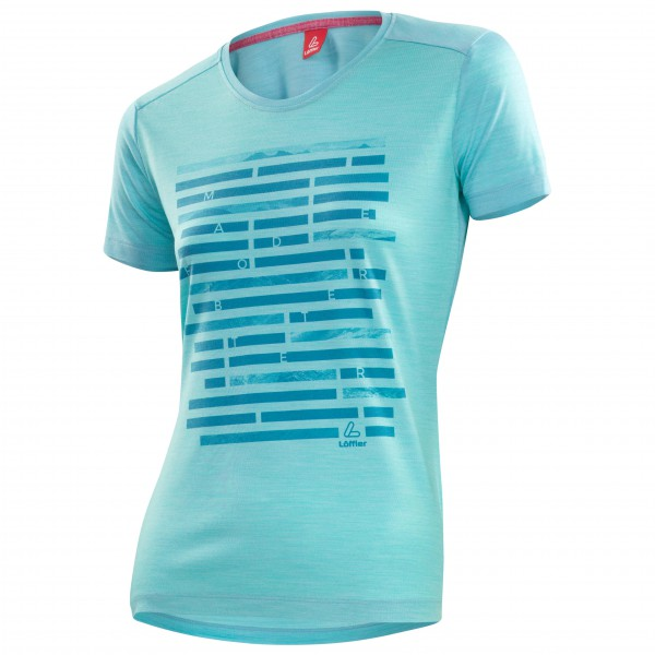 Löffler - Women's Printshirt Merino - T-Shirt