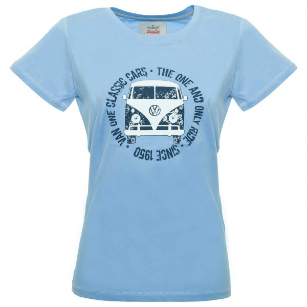 Van One - Women's Bulli Face Used VW Bulli Tee - T-shirt