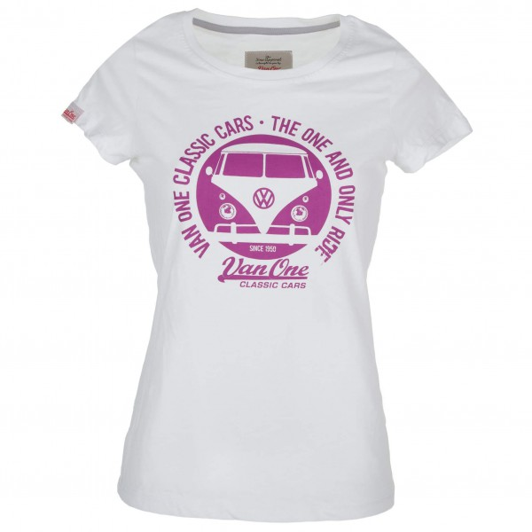 Van One - Women's Bulli Face VW Bulli Tee - T-shirt
