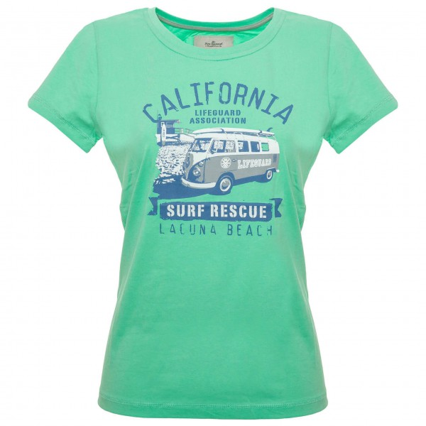 Van One - Women's Laguna Beach VW Bulli Tee - T-paidat