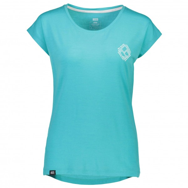 Mons Royale - Women's Cali Cap Tee Diamond - T-paidat