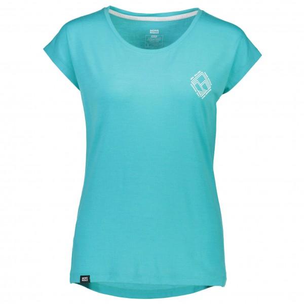 Mons Royale - Women's Cali Cap Tee Diamond - T-Shirt