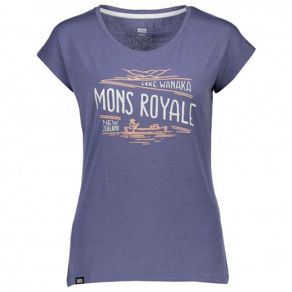 Mons Royale - Women's Cali Cap Tee Wanaka - T-shirt